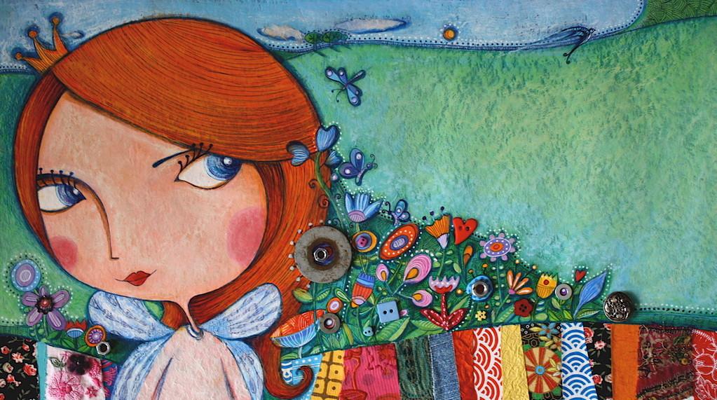 Album jeunesse - Poucette - Catherine Suchocka, mariage de la Poucette avec le petit roi des fleurs