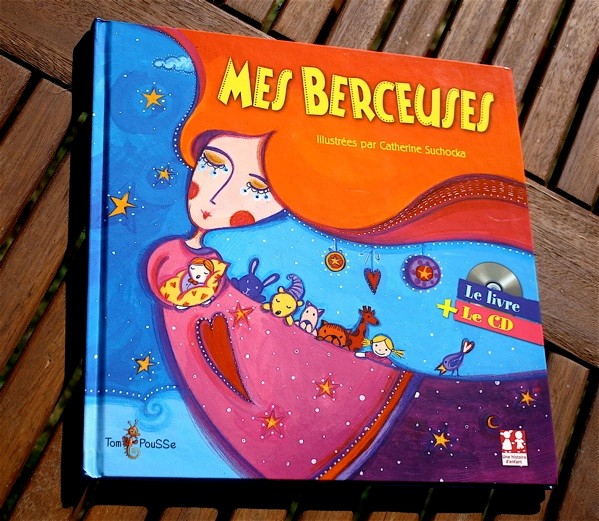 MES BERCEUSES Livre CD