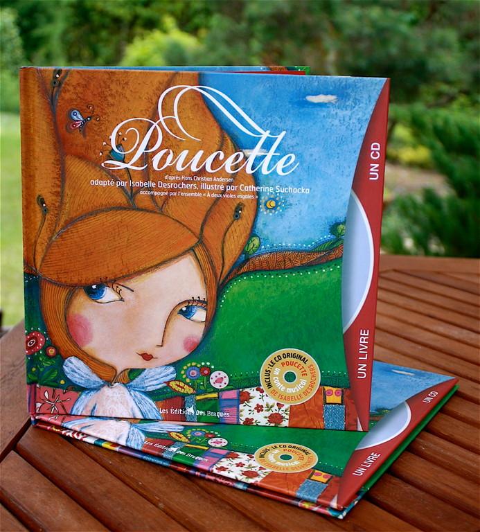 Album jeunesse - Poucette - Catherine Suchocka