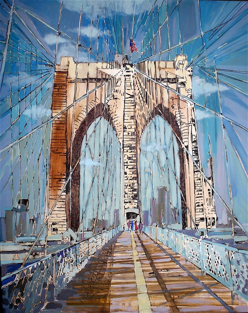 Brooklyn Bridge - Format 80 cm x 100 cm