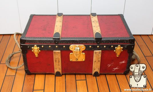 trunk louis vuitton 1911 Albert Kahn