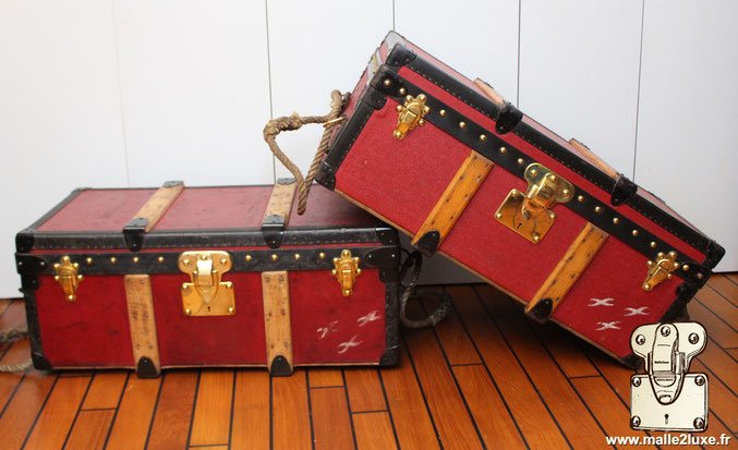Malle louis Vuitton Albert Kahn 1911 - 1929 trunk