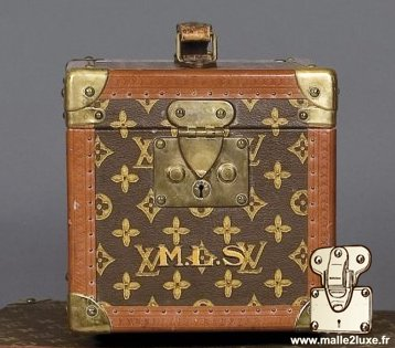 Louis Vuitton Bottle Box - LV Stencil vanity