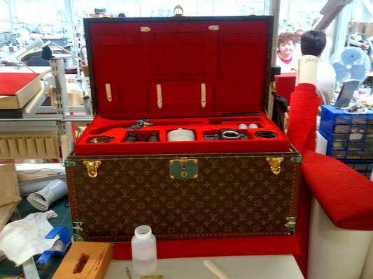 trunk for numerique aventure vuitton