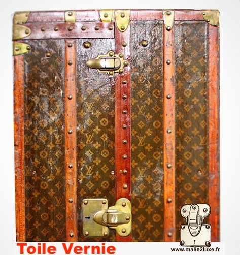 canvas louis vuitton varnish trunk