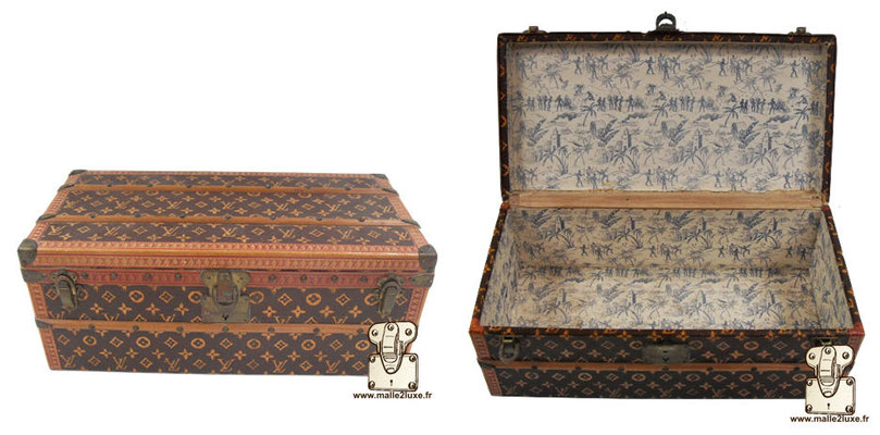 Louis Vuitton flower trunk 1910
