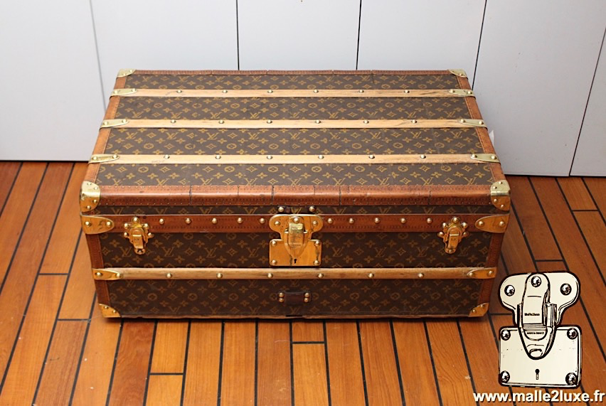 very rare trunk cabin perfect Louis Vuitton