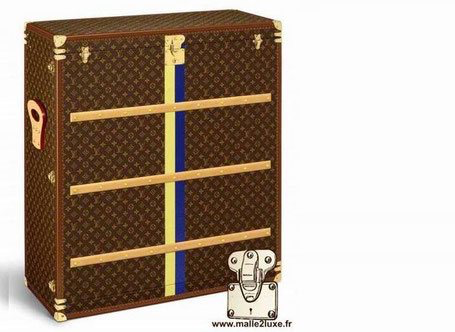 very special louis vuitton trunk