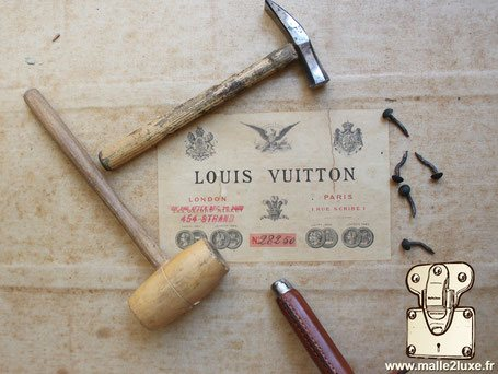 Restoring a legendary trunk vuitton