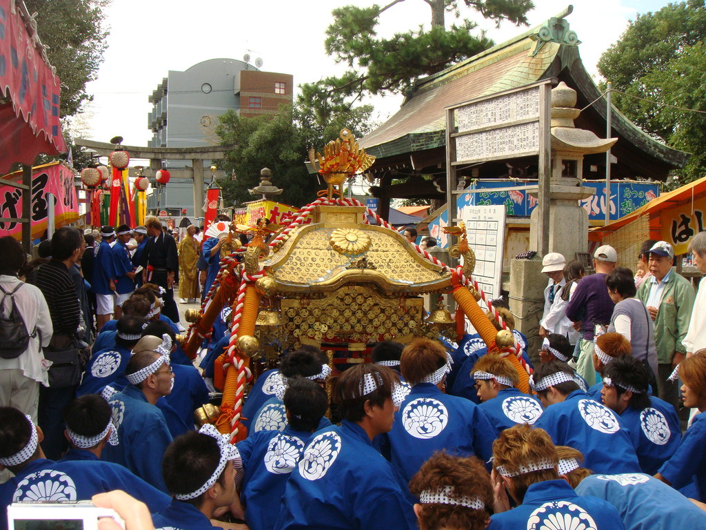 塩屋(海神社にて)