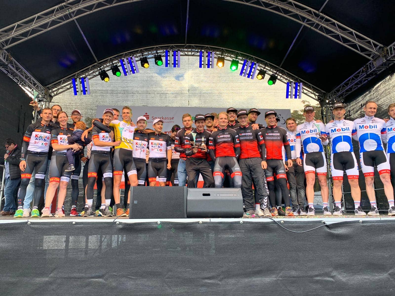 Podium der GCC Gesamtwertung Teams 2019