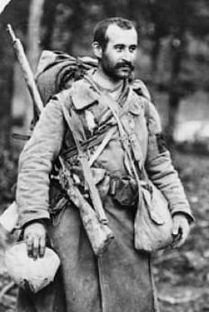 Soldat de la première guerre mondiale