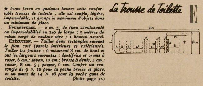 Magazine Marie-Claire 15 décembre 1939