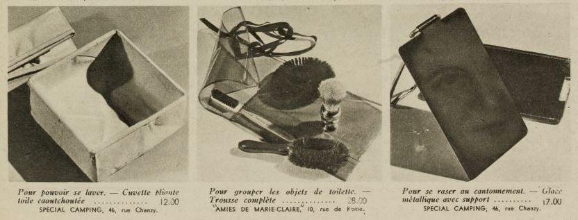 Magazine Marie-Claire du 24 novembre 1939