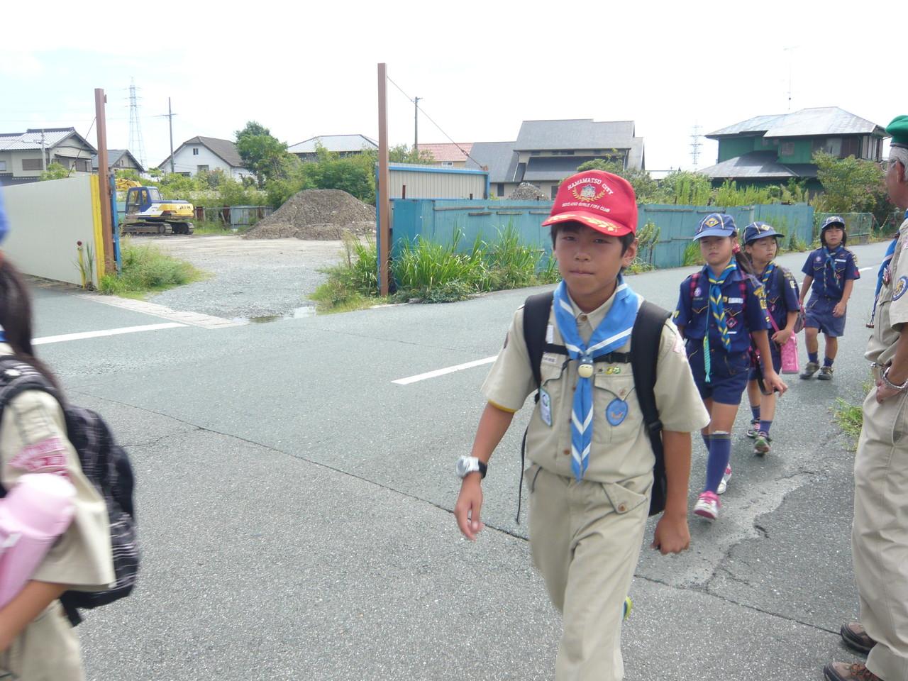 天竜川駅までハイキング