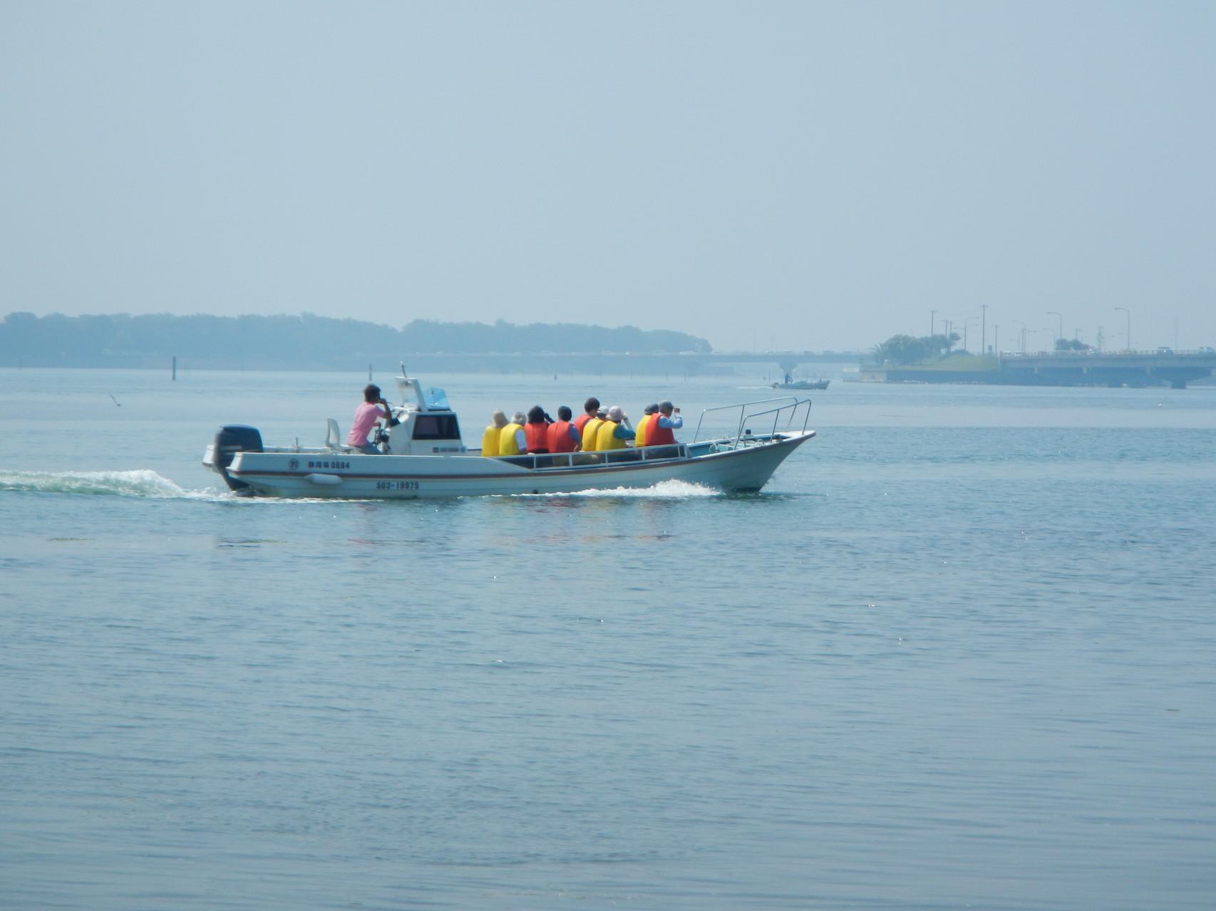 花博への水上交通