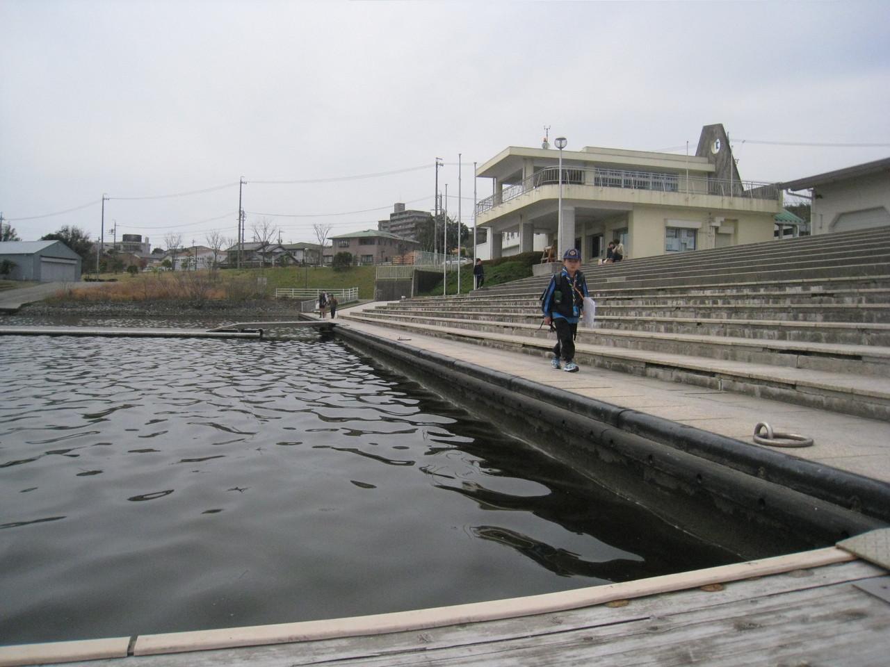 浜松市佐鳴湖漕艇場
