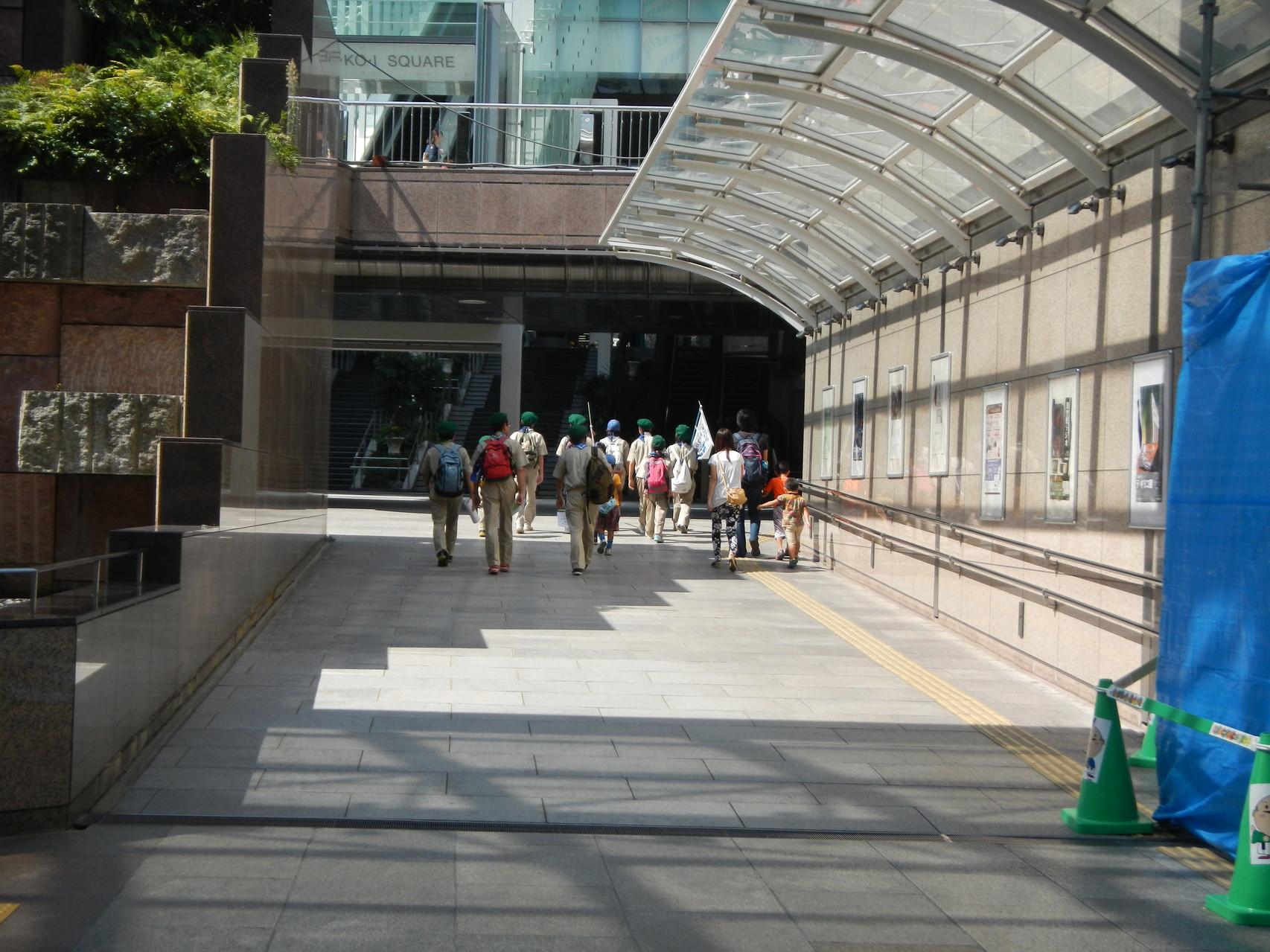 遠鉄新浜松駅方面へ