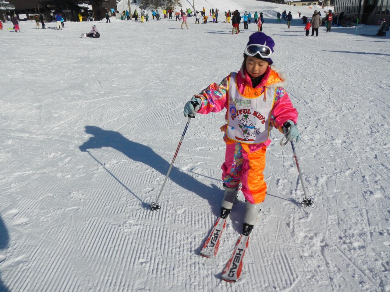 スキーは初めてのカブスカウト