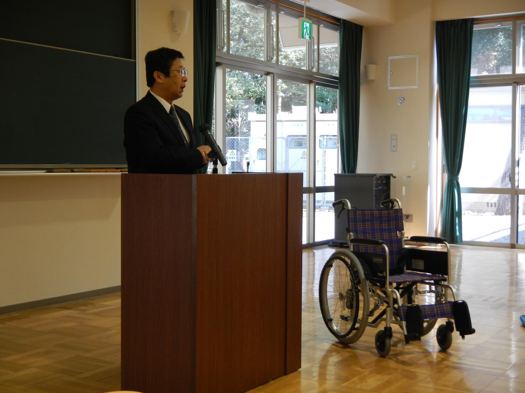 浜松市社会福祉協議会 浜松地区センター長 飯嶋 様