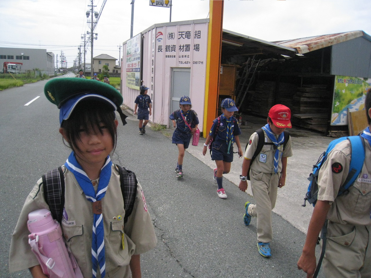 天竜川駅まで歩きます