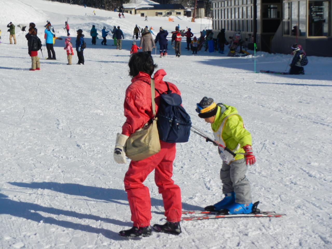 スキーは初めてのビーバースカウト