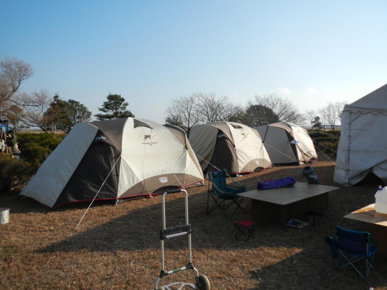 スカウト用テント