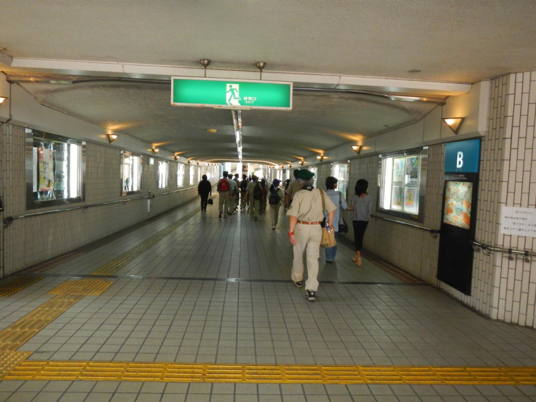 浜松駅前バスターミナル地下