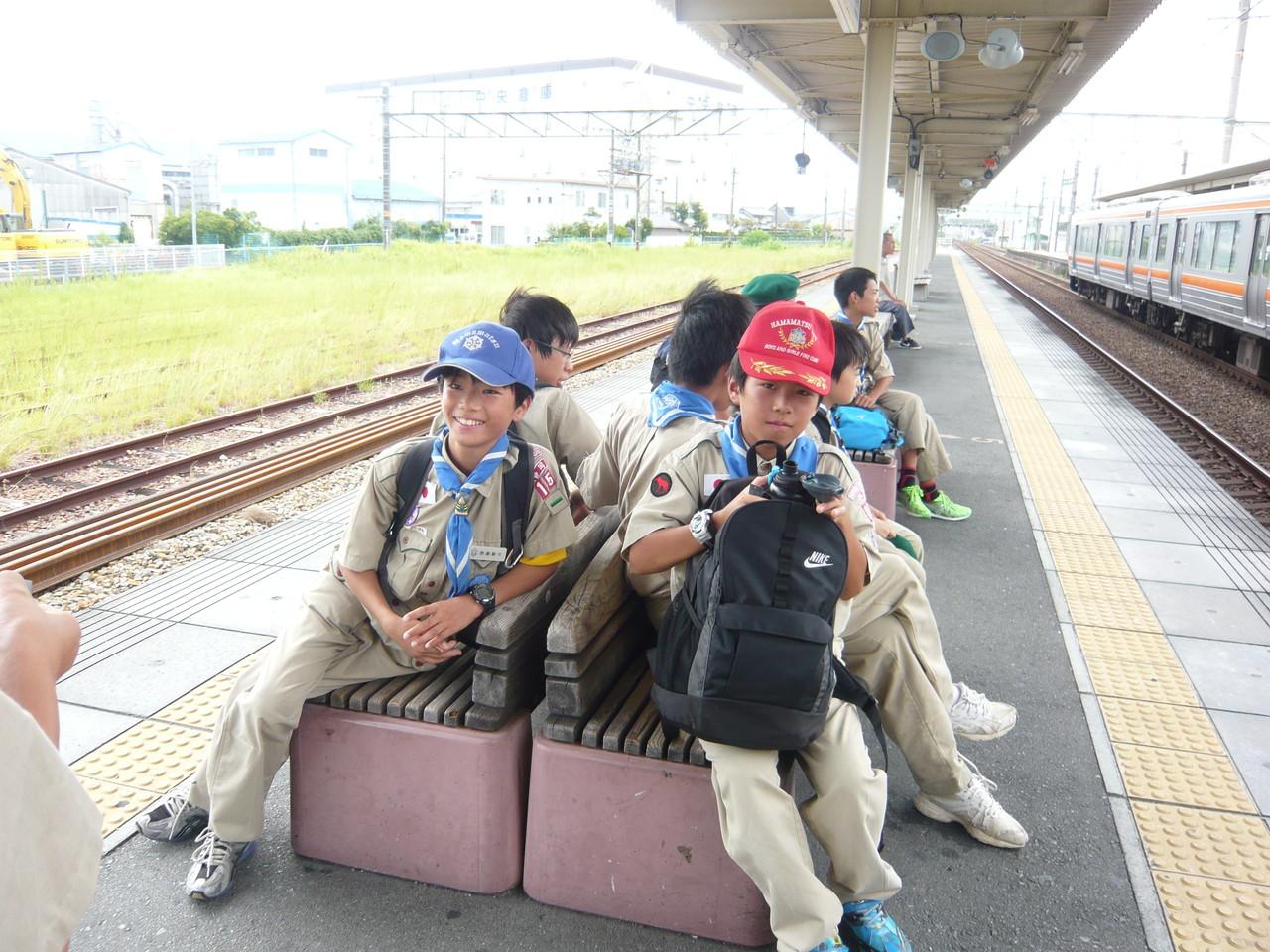 天竜川駅ホーム