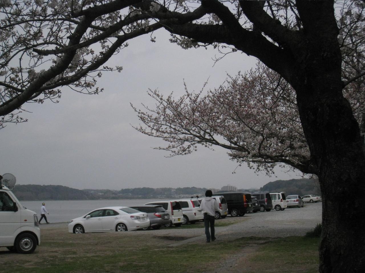 佐鳴湖到着