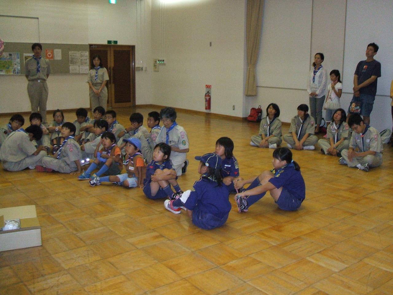 「スカウトの日」にむけて、環境教室を開きました。