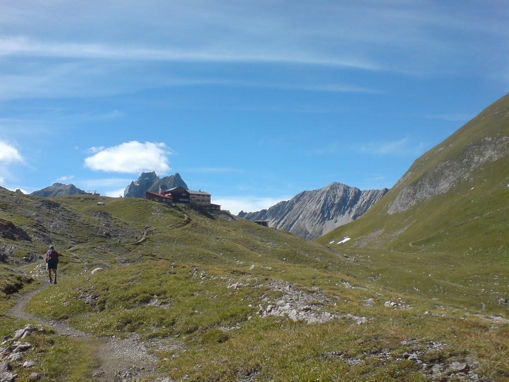 Ausblick Memminger Hütte - © Fotoarchiv Familie Schmid