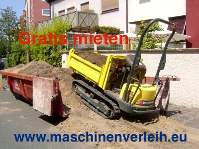 Hoftrak, Traktor, Dumper einfach laden