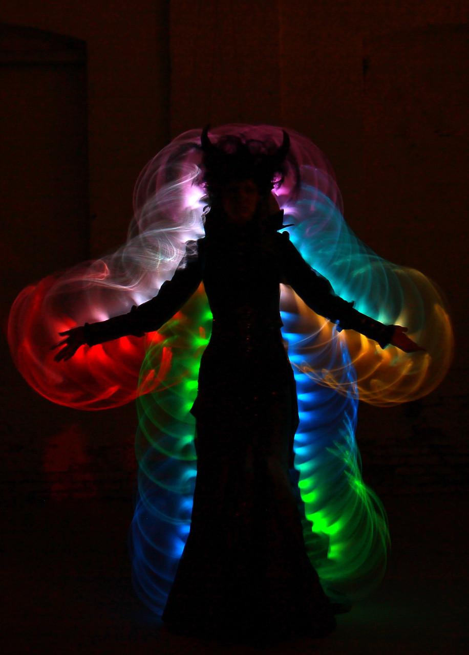 Performance Leonore Geisen, Kamera: Karin Brodowsky