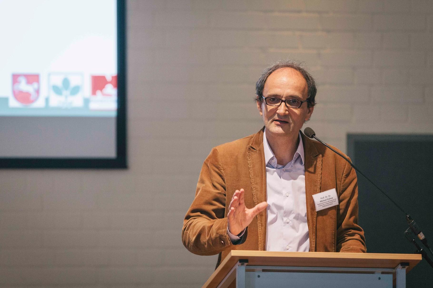 Prof. Dr. Dr. Michael Kühne, Abeilungsleiter Niedersächsisches Ministerium für Ernährung, Landwirtschaft und Verbraucherschutz