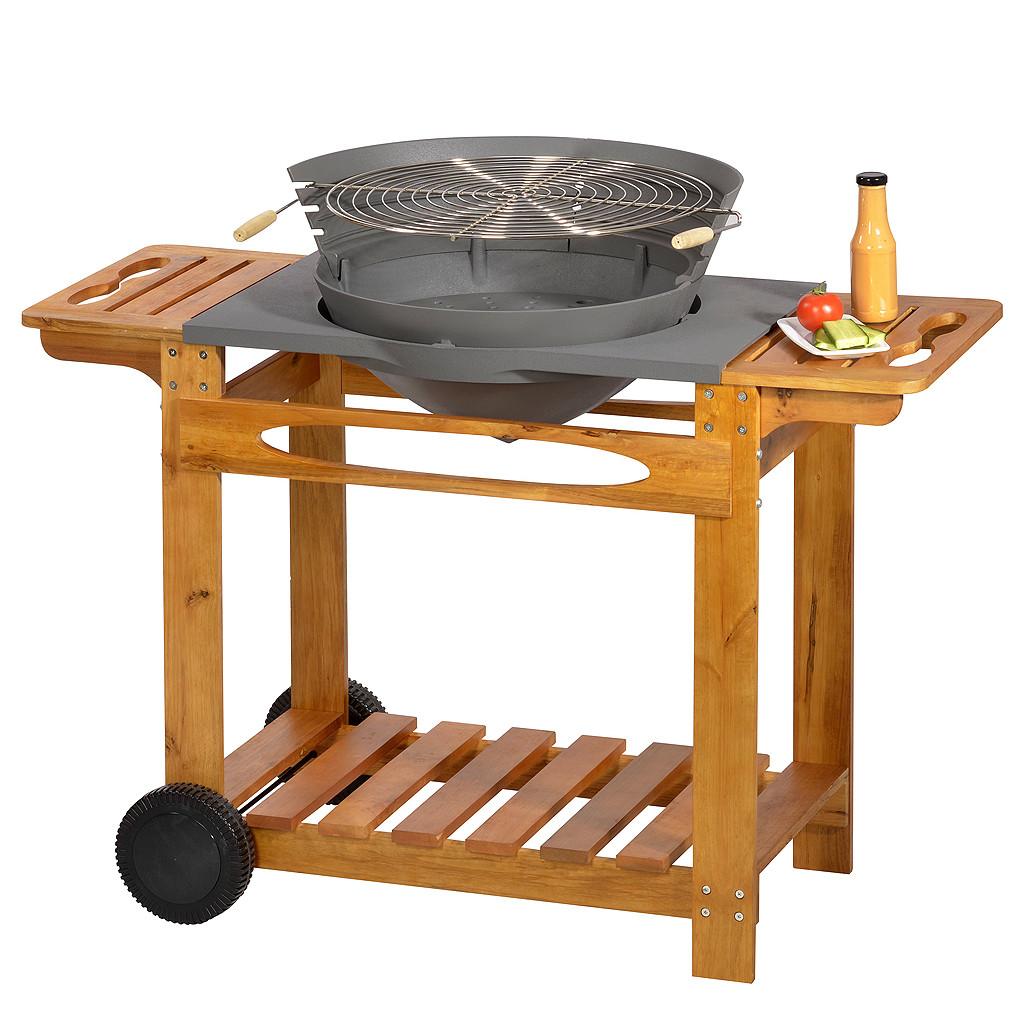 Grill mit HolzwagenG744 I
