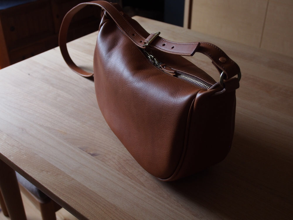 fastener shoulder bag - ファスナーショルダー  ¥45,000