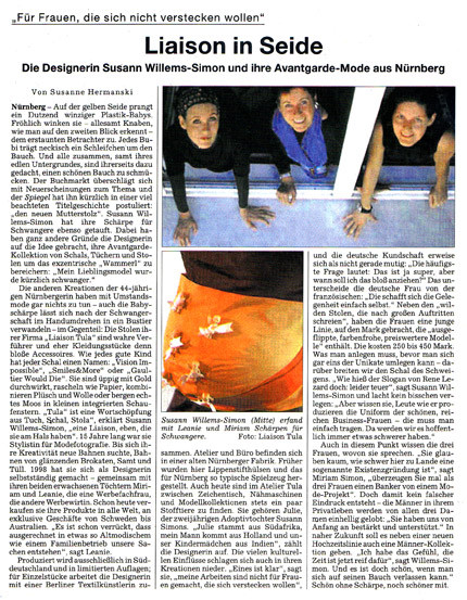 Süddeutsche Zeitung, September 2001