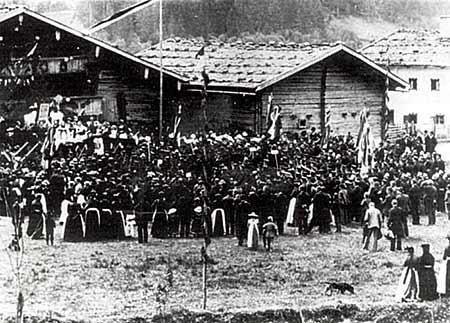Fahnenweihe 1906