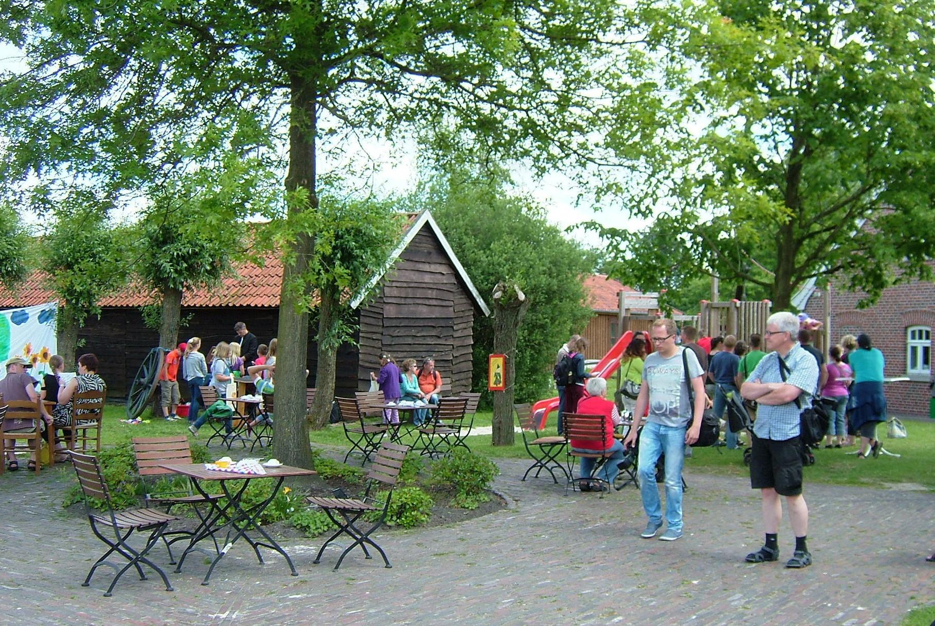 Tolle Atmosphäre im Torf- und Siedlungsmuseum Wiesmoor!