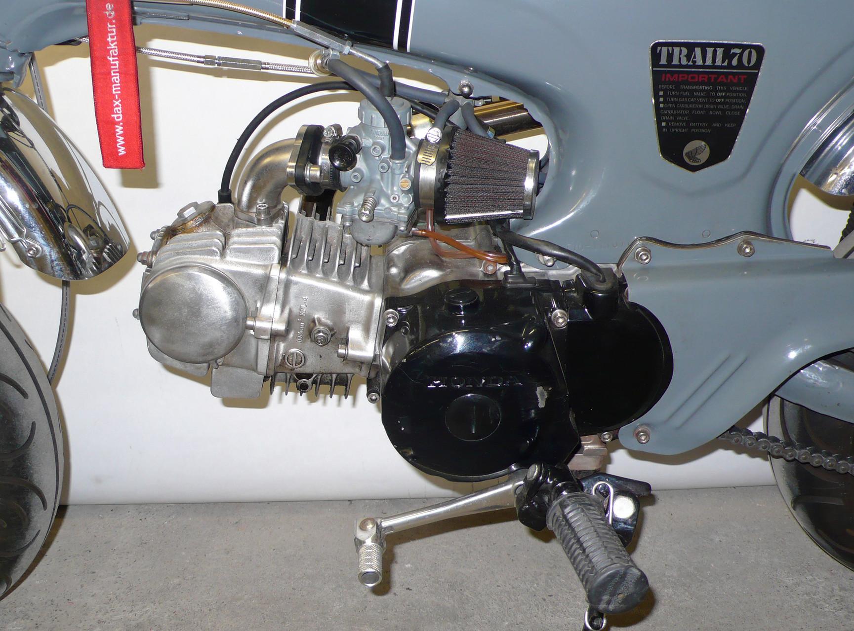 Hat ordentlich Dampf: Honda Nice-Motor ...