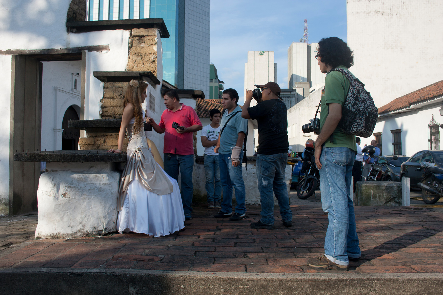 Practica Fotográfica en la iglesia La Merce