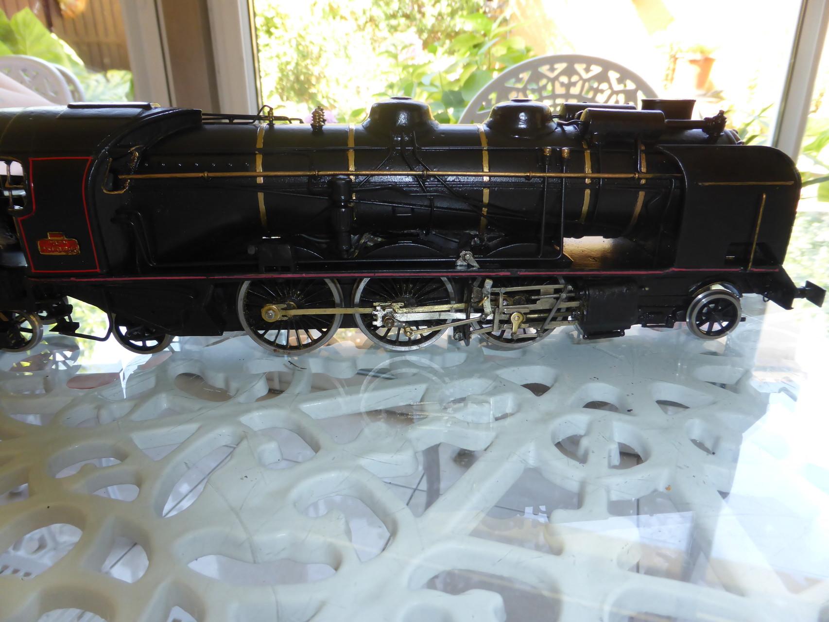 Locomotive terminée