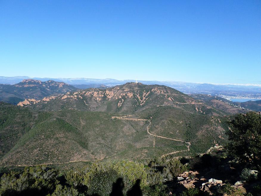 Autre vue du sommet