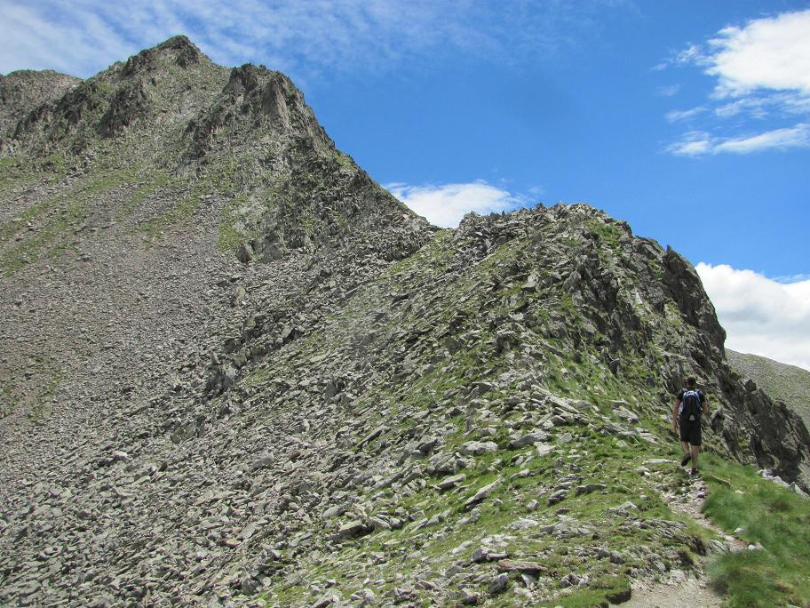 L'Agnellière , visible en haut.