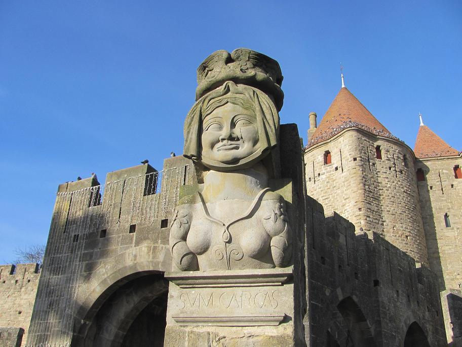 Copie de 1995, l'original très abîmé est visible dans le château