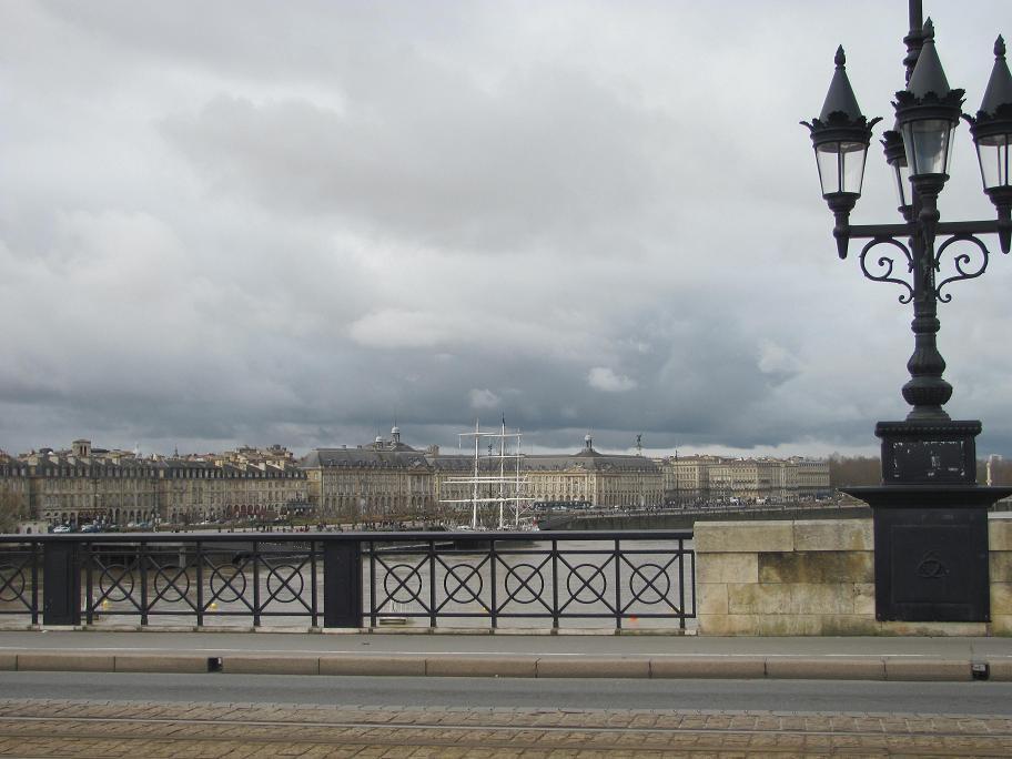 Vue en passant sur le pont
