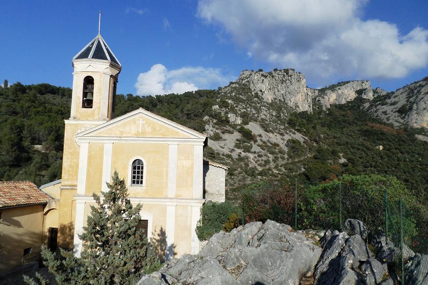 L'église du XVIIIè siècle.
