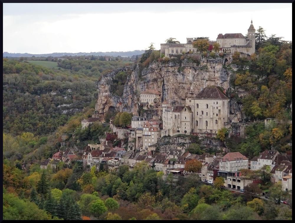 Rocamadour vu du belvédère