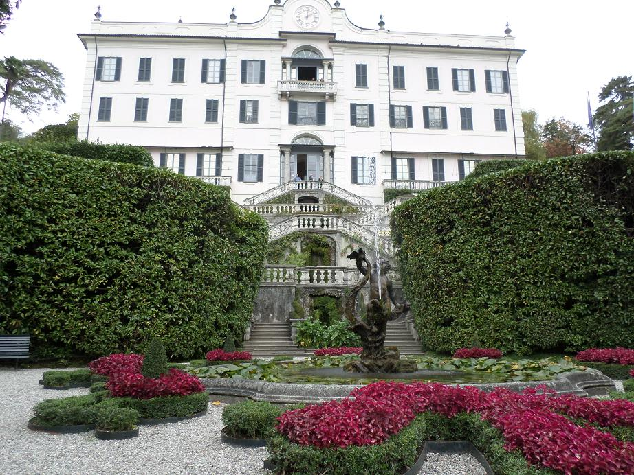 L'entrée de la Villa Carlotta